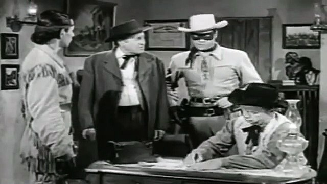 The Lone Ranger (1949) with Clayton Moore part 2/2