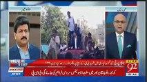 Hamid Mir Tells What Asif Zardari Said To Bilawal on Phone When People Throwing Stones on Him in Layari