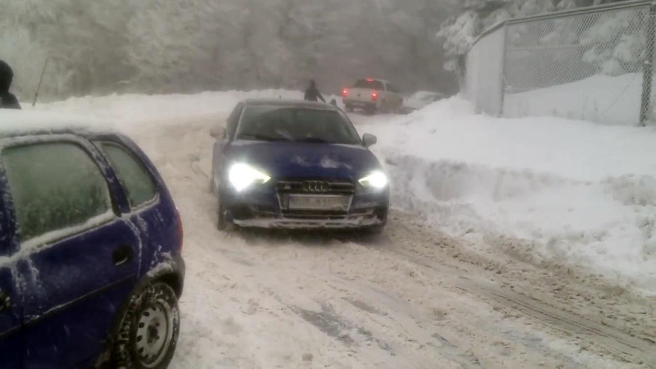 Audi S3 im Schnee // Audi S3 snow