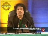 Les provocations de Kadhafi