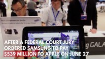 Apple and Samsung Finally Reach A Truce