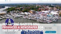 Tributes Paid To Capital Gazette Shooting Victims