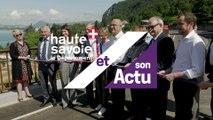 Le Département et son Actu : inauguration de la 7ème section de la voie verte de la rive Est du lac d'Annecy