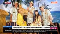 EXCLU - Club Dorothée: L'hommage ému en direct de Jacky à son ami Corbier - VIDEO