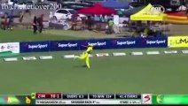 Best Boundry Saved In Cricket History By Australian. Amazing Triple Action