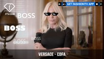 Donatella Versace Wins International Award at the 2018 CFDA Fashion Awards | FashionTV | FTV