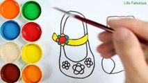 Comment Dessiner Et Colorier Les Poissons Arc En Ciel Coloriages