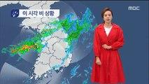 [날씨] 중부 밤새 세찬 비…7호 태풍 제주도 영향