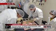 """""""Proyecto Irazú"""", el primer satélite centroamericano será lanzado al espacio el 2 de abril"""