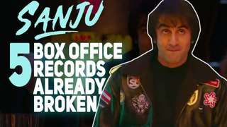 5 Box Office Records That Ranbir Kapoor Starrer Sanju Has Broken