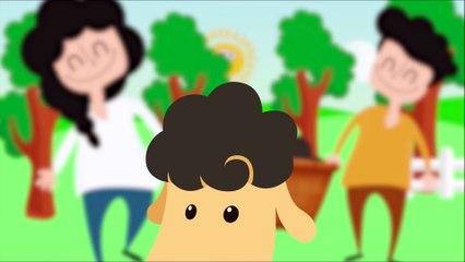 Funny Sun Story! Baa Baa Black Sheep - Song for Kids & Nursery Rhymes