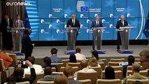 Alors que l'Aquarius fait escale à Marseille, le président du Conseil européen intime aux ONG de ne plus intervenir en Méditerranée