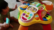 Excellent Learning Workbench Laugh Learn By Fisher Price Toy Inzonedesignstudio Interior Chair Design Inzonedesignstudiocom