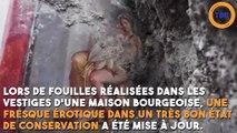 Une fresque érotique a été découverte à Pompéi !