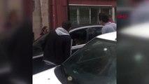 Şişli'de Lüks Otomobile Silahlı Saldırı