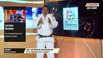 Lecanu vs Bundes du 27-09-18 (ChM 2018 de judo) - la domination du Japon (les équipes)