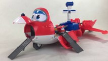 Super Wings Giant Jett's Takeoff Tower Airport w Mini Transforming Jett || Keith's Toy Box