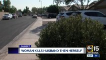 Husband and wife dead in apparent murder-suicide in Gilbert
