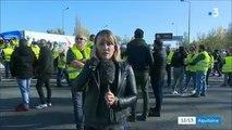Le JT de France 3 Aquitaine qui panique et censure une journaliste qui évoque les menaces et la violence des policiers/CRS à l'égard des gilets jaunes.