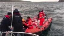 Adada Mahsur Kalan Göçmenler İçin Kurtarma Operasyonu (3)