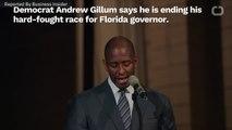Democrat Andrew Gillum Ends Bid For Florida Governor