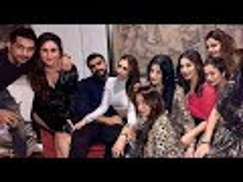 Rumoured Couple Arjun Kapoor, Malaika Arora GET COZY As They Begin The Party With Kareena & Frie