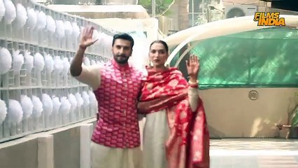 Ranveer Singh and Deepika Padukone visuals at Ranveer Singh House after Marriage.