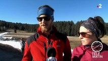 Savoie : une piste de ski reconstituée avec de la neige de l'hiver 2017