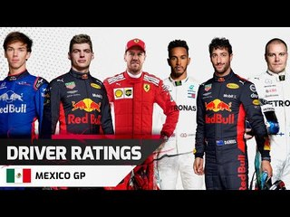 Driver Ratings - Mexican GP