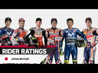 Rider Ratings - Japan MotoGP