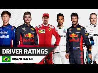 Driver Ratings - Brazilian GP