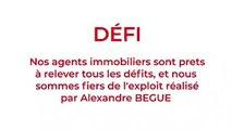 Périple d'Alexandre Begue au Piton des Neiges !