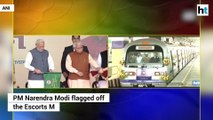 PM Modi flags off Escorts Mujesar to Ballabhgarh section of Delhi Metro