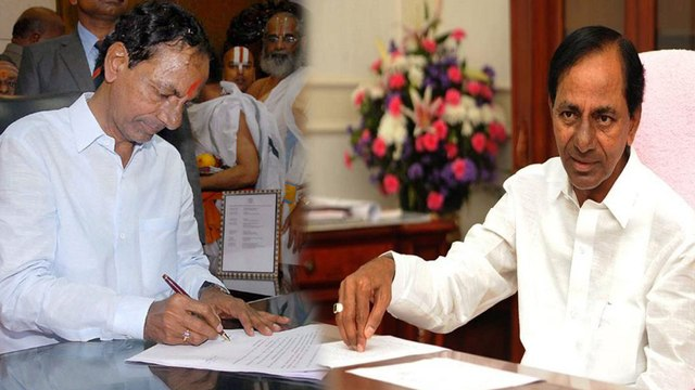 Telangana Elections 2018 : ఎన్నికల కోసం పాటలు రాసిన కేసిఆర్ | Oneindia Telugu