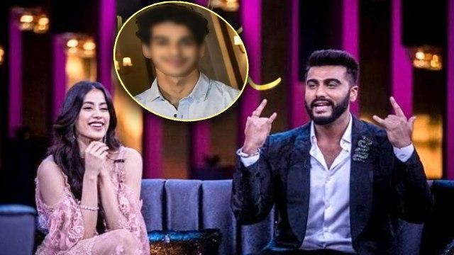 Arjun Kapoor reveals Jhanvi Kapoor's boyfriend name at Koffee With Karan  Season 6 | FilmiBeat