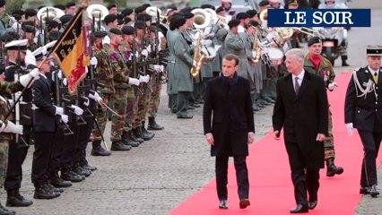 Visite d'Etat du Président Emmanuel Macron en Belgique