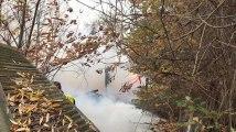 Grivegnée : Incendie rue du cimetière