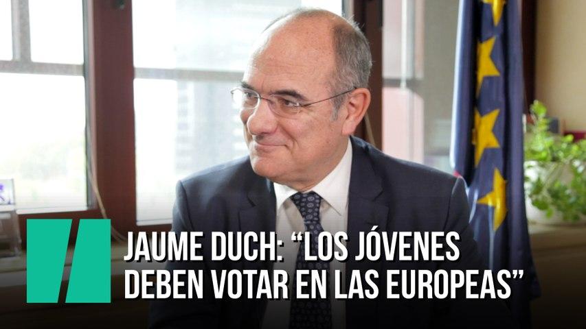 """Jaume Duch: """"Los jóvenes deben votar en las europeas"""""""