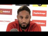 Wales v Denmark - Ashley Williams Pre-Match Press Conference - UEFA Nations League