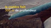 Groenland : un cratère de météorite géant retrouvé sous un glacier
