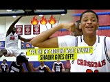 """Ppl On The Sideline Were Talking"" So Shaqir O'Neal Goes CRAZY w/ 9 Threes! CRAZY POSTER!!"