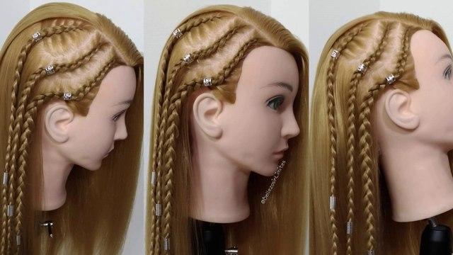 Peinados Con Trenzas Africanas Y Pelo Suelto By Belleza Sin Limites