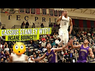 Cassius Stanley PAUSES Mid Air On Some Houdini Ish!! Sierra Canyon is 2019 SQUAD GOALS!