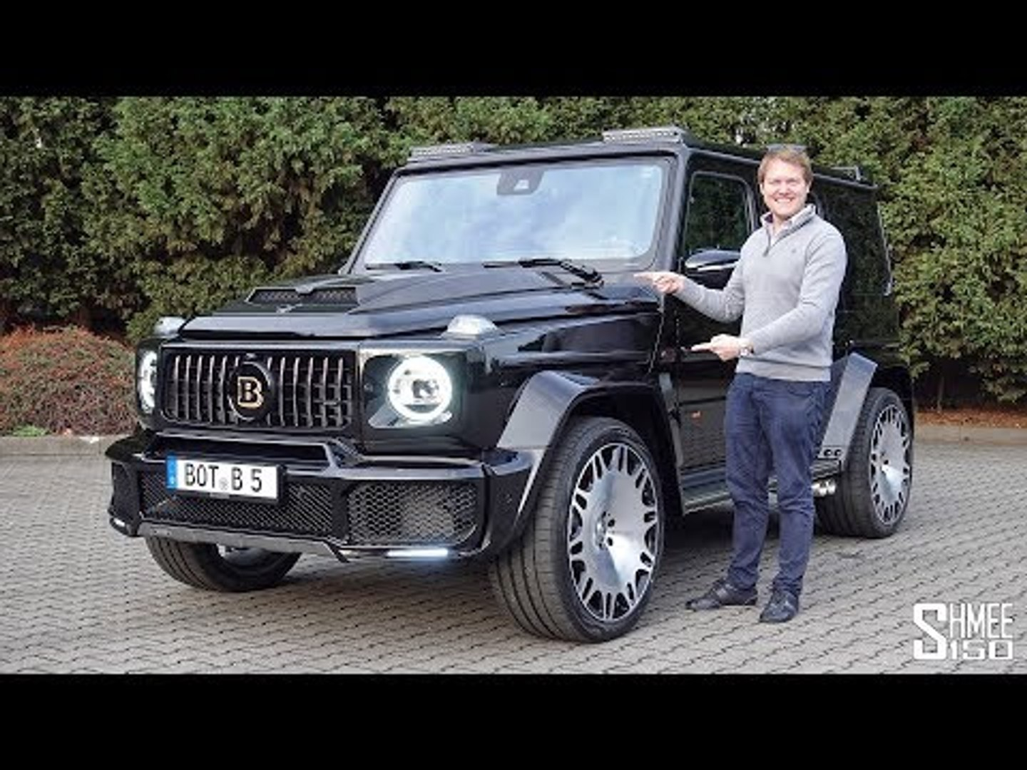 The Brabus 700 G63 Widestar Is A Mercedes Amg G Wagon On Steroids Video Dailymotion