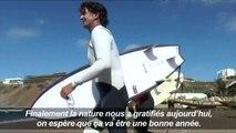 Sénégal: une houle exceptionnelle attire les surfeurs à Dakar