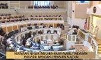 AWANI - Melaka: Kerajaan Negeri Melaka akan ambil tindakan individu mengaku pewaris Sultan