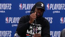 Dwyane Wade Postgame conference   Heat vs Sixers Game 5   April 24, 2018   NBA Playoffs