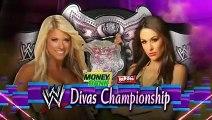 WWE RAW Melina vs Kelly Kelly (Melina last match)