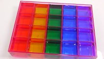 DIY How to Make 'Colors Soft Block Gummy Pudding Jelly' Learn Colors Slime Clay Icecream