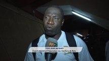 Réactions équipes ivoiriennes:  Kolo Touré coach adjoint et Tizié Jean coach adjoint et préparateur des gardiens de buts